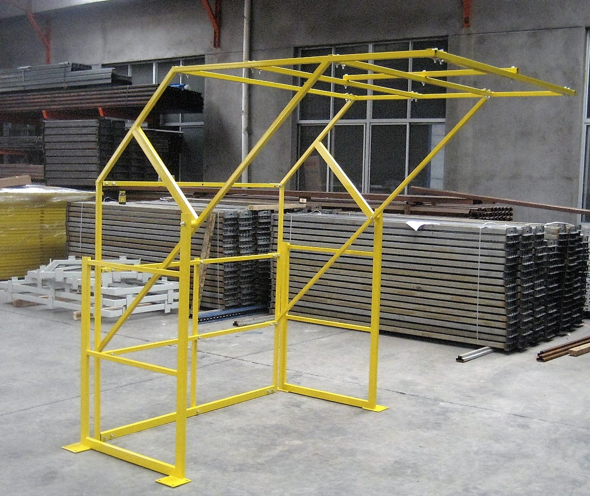 Mezzanine Pallet Gate : Mezz safety gate mezzanine floors sydney dynamic racking