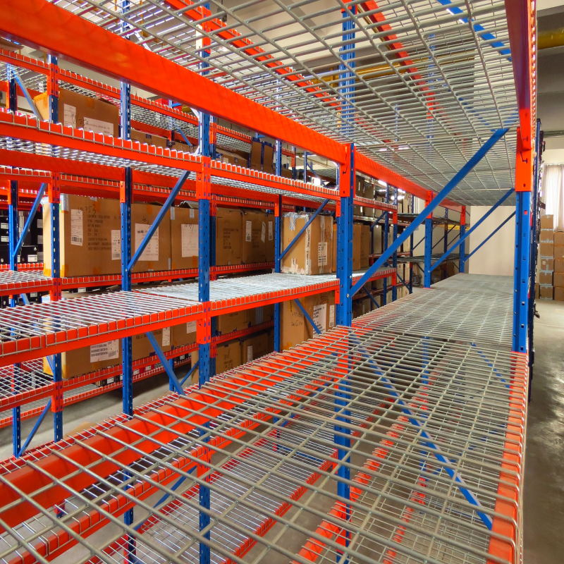 Wire Mesh Deck Sydney Dynamic Racking Warehouse Solution