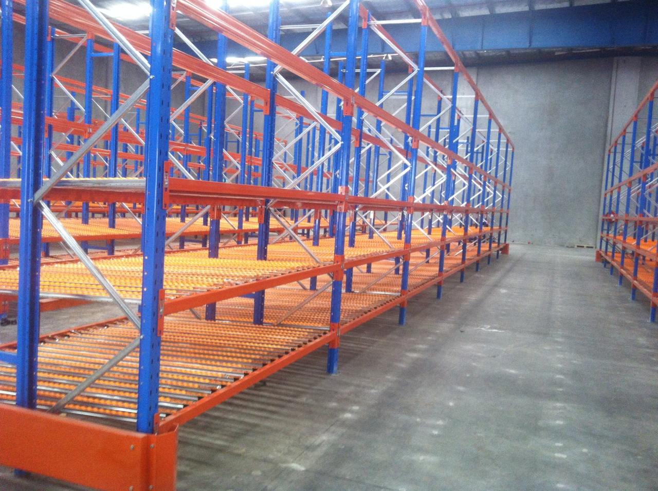 Carton Live Storage Sydney Dynamic Racking Warehouse Solution