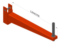 LD arm 900mm